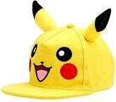 Pokemon 3D Pikachu Youth Snapback Hat