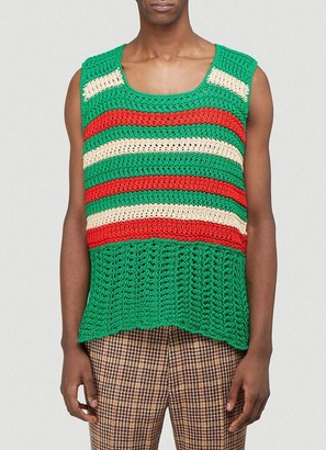 Gucci Knitted Vest Top