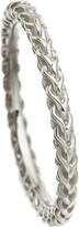 Astley Clarke Stilla Spiga sterling silver chain ring