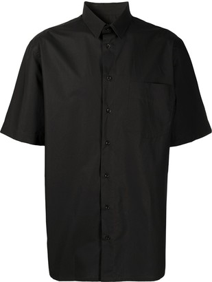 Raf Simons Logo Print Short-Sleeved Shirt