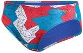 Speedo Gem Geo Printed Brief Swimsuit 8136819