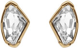 Reiss Thelma Stud Earrings With Crystals From Swarovski