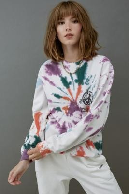 Stan Ray Action For Peace Tie-Dye Sweatshirt - Assorted XS at Urban Outfitters