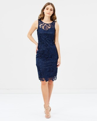 Montique Tilly Lace Shift Dress