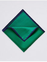 M&S Collection Pure Silk Pocket Square