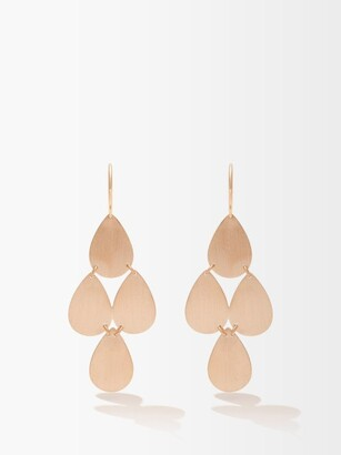 Irene Neuwirth Rose-gold Chandelier Earrings - Rose Gold