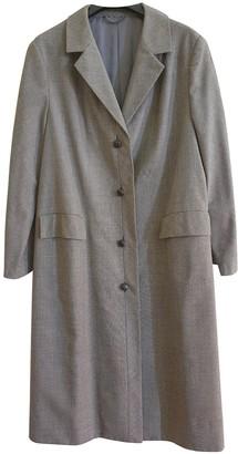 Ted Lapidus Grey Cotton Coat for Women
