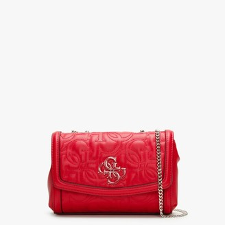 GUESS Mini New Wave Red Convertible Cross-Body Bag