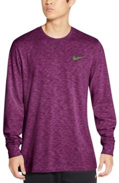 Nike Men's Dri-fit Long-Sleeve Training T-Shirt