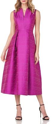 Kay Unger Allegra Jacquard Dress
