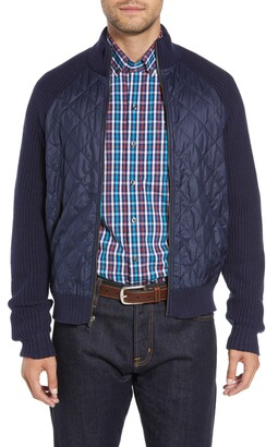 Cutter & Buck Quilted Zip Sweater