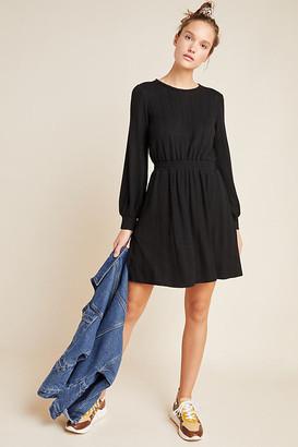 Cressida Sweater Dress By Dolan Left Coast in Black Size XS P