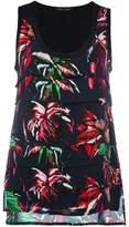 Proenza Schouler floral tank top