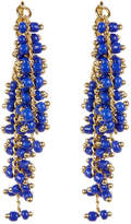 Elizabeth and James Gold Plated Beaded Rosanna Earrings