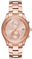 Michael Kors Chronograph Briar Rose-Goldtone Bracelet Watch