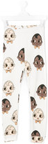 Mini Rodini babies print leggings
