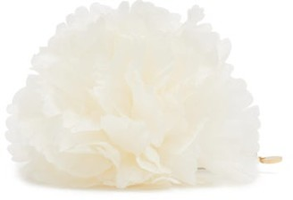 Alexandre Vauthier Silk Flower Brooch - White