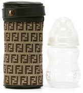 Fendi logo print bottle bag - kids - Cotton/Polyester/Polyurethane - One Size