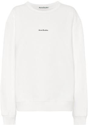 Acne Studios Logo cotton-jersey sweatshirt