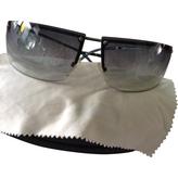 Gucci Green Metal Sunglasses
