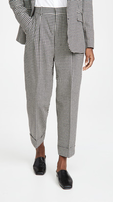 Ami Houndstooth Trousers