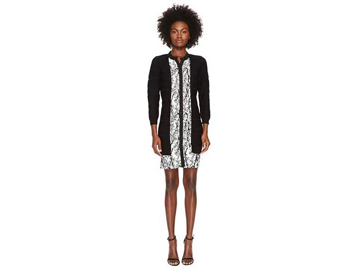 Yigal Azrouel Pleated Viscose Dress Women's Dress
