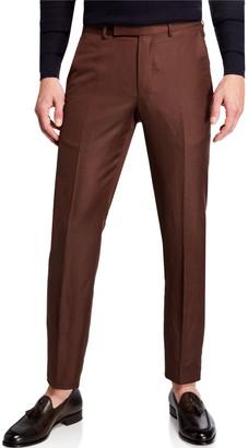 Ermenegildo Zegna Men's Wool-Blend Tapered Pants