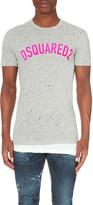 DSQUARED2 Brand logo cotton t-shirt