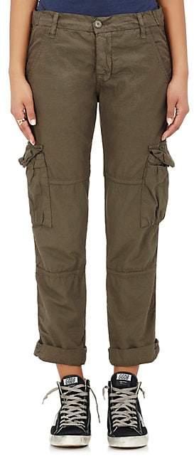 NSF Women's Basquiat Cotton Cargo Pants - Olive