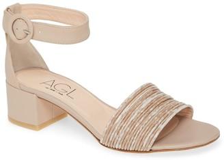 AGL Ankle Strap Leather Sandal