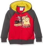 Universal Kids Minions Boy's Sweat Jacket / Hoodie,ears (Manufacturer size: 128 cm)
