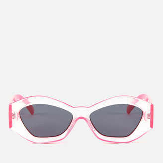 Le Specs Women's The Ginchiest Sunglasses - Hot Pink