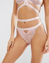 Asos Belle Strappy Lace Thong