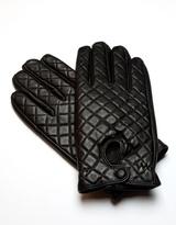 RUMI Black Leather Gloves
