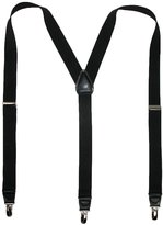 Van Heusen Men's Elastic Solid Color Dress Clip-End Suspenders