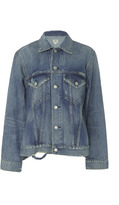 Citizens of Humanity Side-Split Denim Jacket