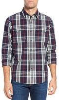 Tailor Vintage Men's Regular Fit Plaid Sport Shirt