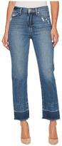 Hudson Zoeey High-Rise Straight + Released Hem in Far Away Women's Jeans