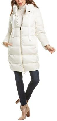 Herno Medium Down Cashmere & Silk-Blend Jacket