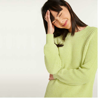 Joe Fresh Women's Marled Sweater, Green (Size XS)