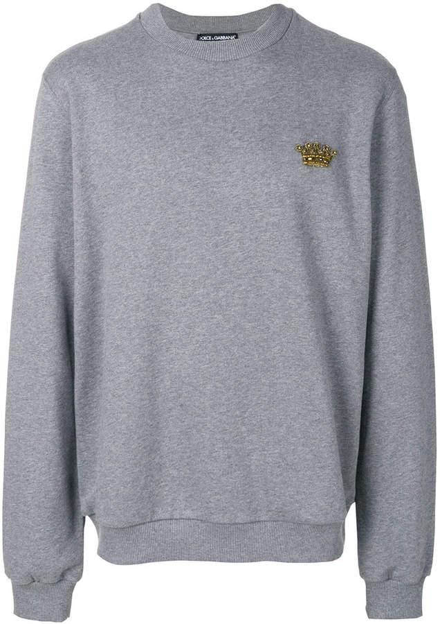 Dolce & Gabbana crown patch jumper