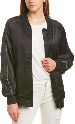 Michael Stars Oversized Bomber Jacket