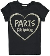 Forever 21 Girls Paris France Heart Tee (Kids)