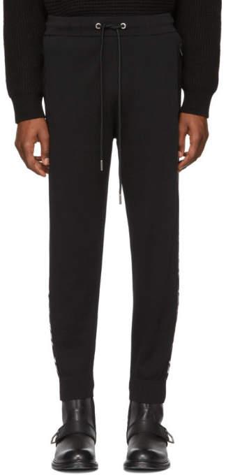 Diesel Black K-Suit Lounge Pants