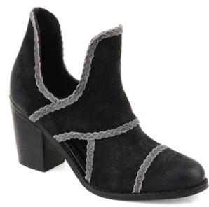 Journee Signature Women's Courtny Booties Women's Shoes
