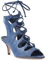 Delman Tanna Crisscross Sandals