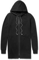 Rick Owens - Cotton-jersey Zip-up Hoodie