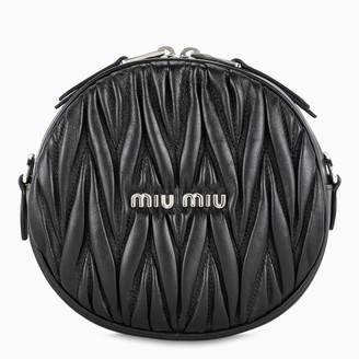 Miu Miu Black round bag with crystal chain