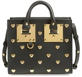 Sophie Hulme Studded Leather Crossbody Tote - Black