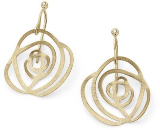 H.Stern Yellow Gold and Diamond Grupo Corpo Earrings